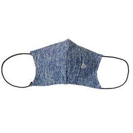 Face Mask Blue Marbled
