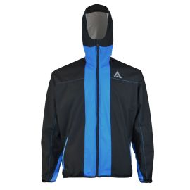 Hooded Rainjacket - Blue Devil