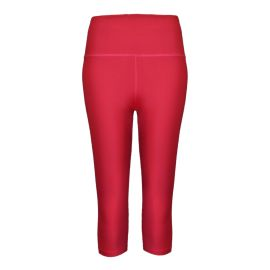 Capri Yoga Leggings - Red