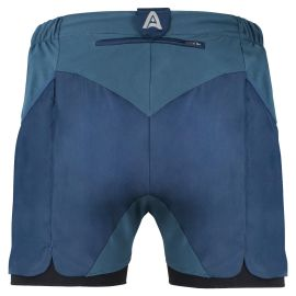 Double Layer Shorts - Mohab - Blue