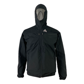 Hooded Rainkjacket Men - Black